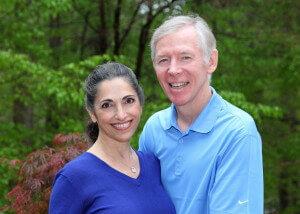 Dr Mary Paula w husband Pat Steele