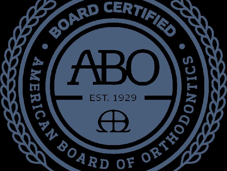 American Board of Orthodontics seal